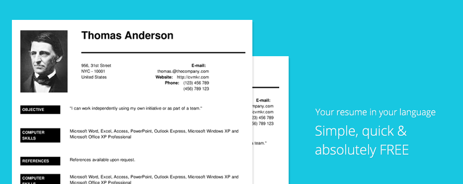 Create Professional Resumes Online